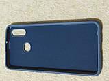 Накладка   Silicon Cover full   для  Samsung A10s    (серый), фото 2