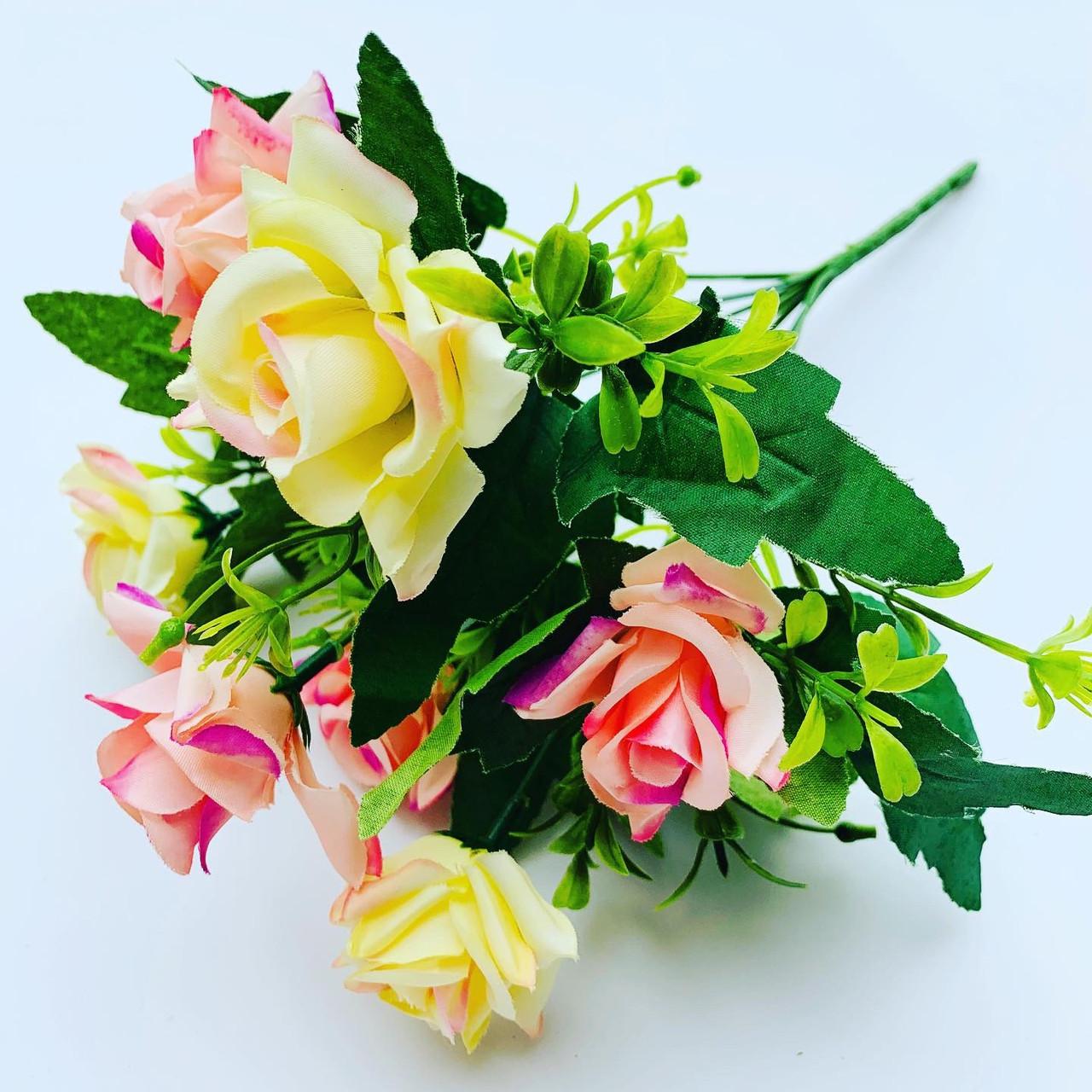Искусственный букет- роза.Роза декоративная ( 32 см)