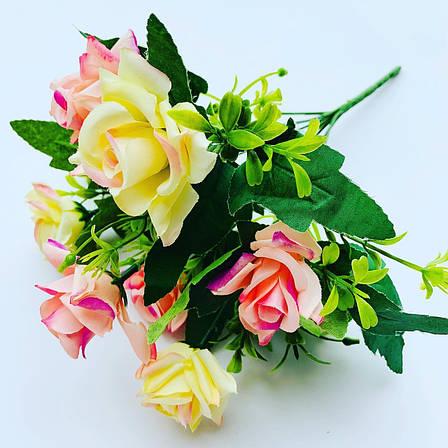 Искусственный букет- роза.Роза декоративная ( 32 см), фото 2