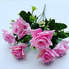 Искусственный букет- роза.Роза декоративная ( 32 см), фото 3