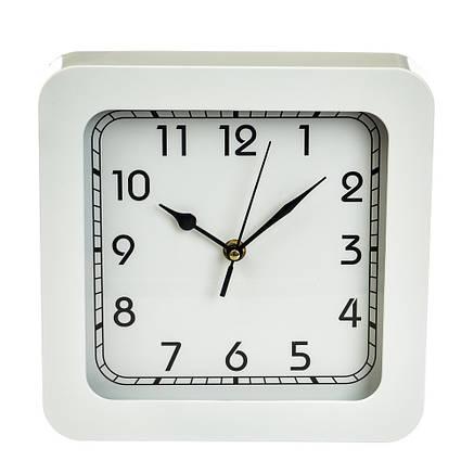 """Часы """"Белый квадрат"""" (23см), фото 2"""