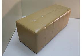 Банкетка Sovalle Стенди без ящика экокожа бежевый 000124-4 NEW