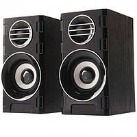 Компьютерные деревянные колонки акустика FnT 2031 Black