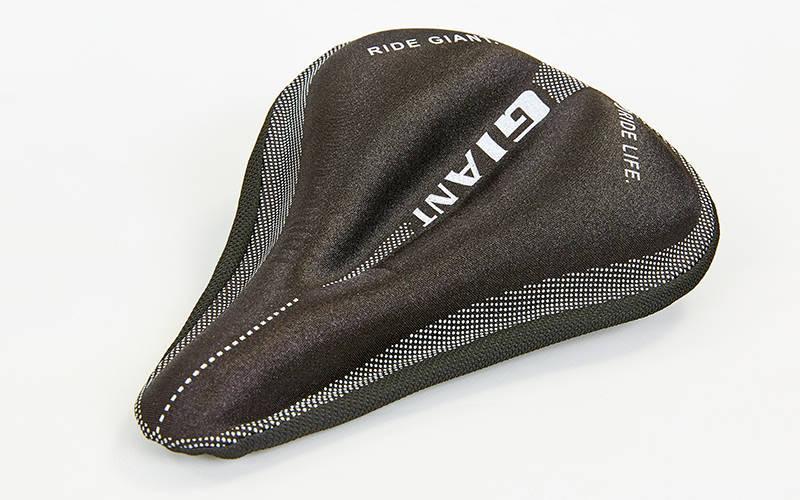 Чехол накладка на сиденье для велосипеда гелевая Giant (черный) PZ-TQ-JJW100
