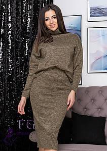 "Модный женский костюм большого размера ""Palladium""| Батал #A/S"