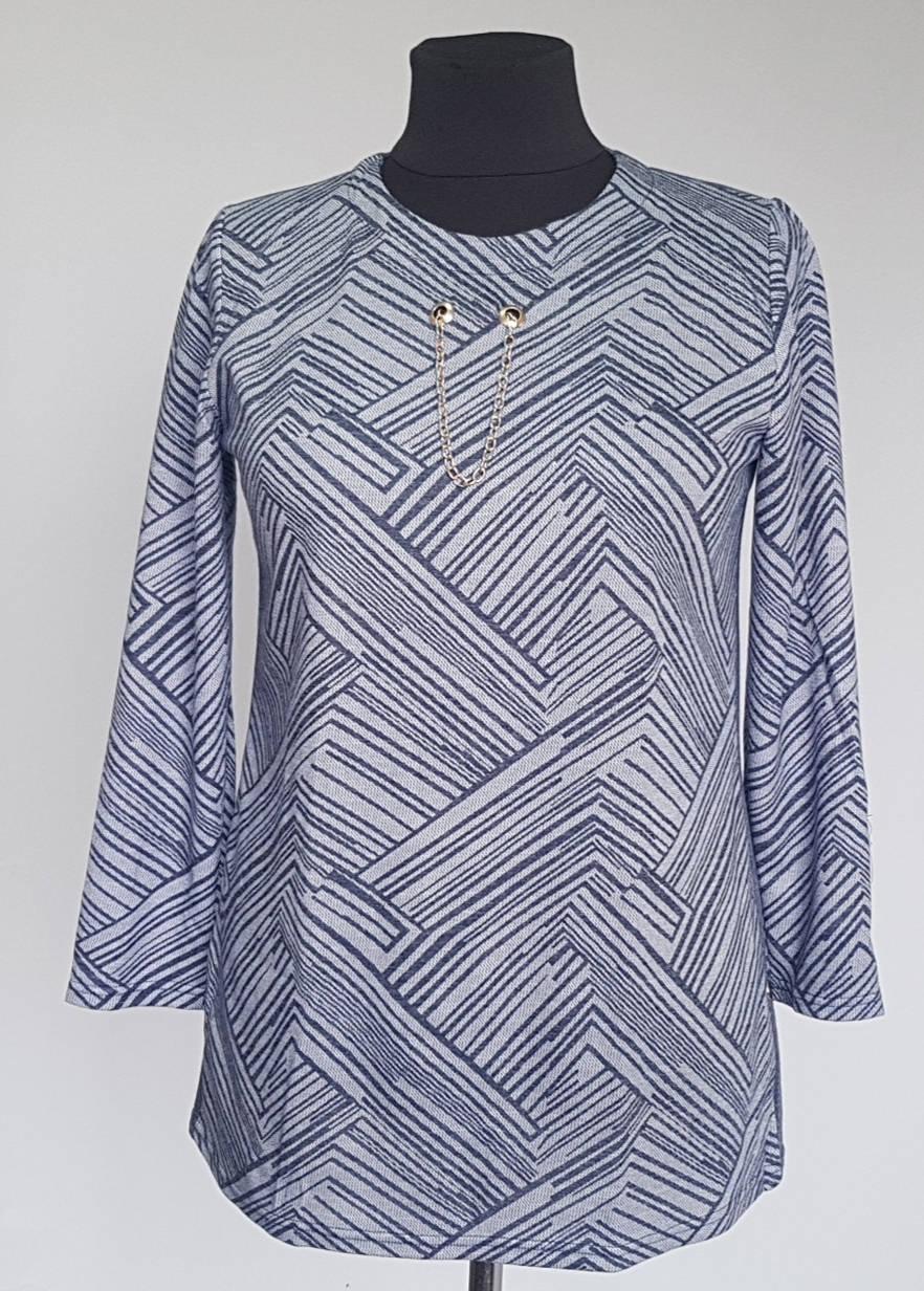 Туника женская серого цвета 54-60 р