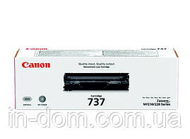 Картридж лазерный Canon 737 Black MF211/212/216/217/226/229, ресурс 2400 листов (9435B002)