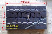 """Мангал чемодан металлический на 8 шампуров (металл """"2"""" мм)"""