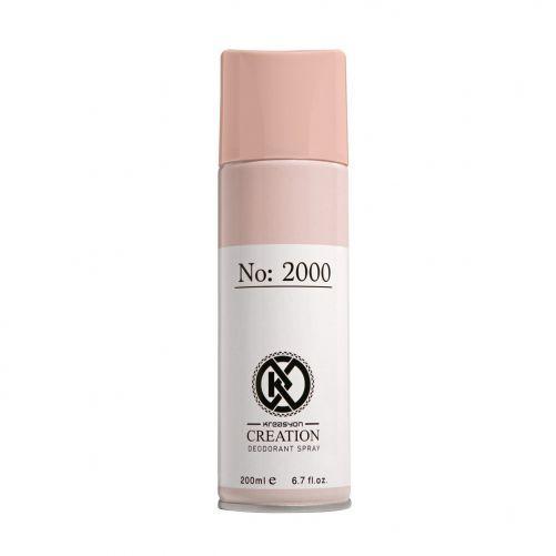 Жіночий дезодорант-спрей Fon cosmetics №2000 Kreasyon Creation  200 мл (3523009)