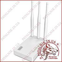 Бездротовий маршрутизатор Netis WF2409E (3 антени, 4*FE LAN, 1*FE WAN, N300)
