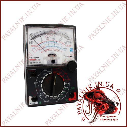 Мультиметр стрелочный YX-360TRn, вольтметр, амперметр