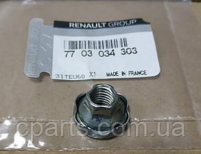 Гайка шпильки приймальної труби Renault Logan (оригінал)