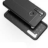 TPU чехол фактурный (с имитацией кожи) для Xiaomi Redmi Note 8, фото 5