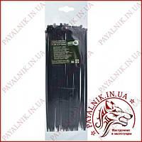 Стяжка кабельная черная 3*250 (2,5*250мм) (100шт)