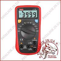 Автоматический мультиметр цифровой UNI-T UT-136B, вольтметр, амперметр, измеритель екмкости, фото 1