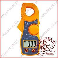Клещи токоизмерительные Digital MT-87, токовые клещи с мультиметром, прозвонка