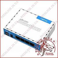 Роутер маршрутизатор MicroTik HAP Lite RB941 2.4 GHz (650MHz - 32Mb)