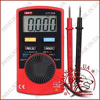 Цифровой мультиметр автомат UNI-T UT-120A, тестер карманный, вольтметр, прозвонка, частотомер