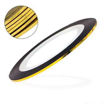 Лента для дизайна ногтей - Золото