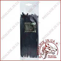 Стяжка кабельная черная 4*250 (3,6*250мм) (100шт)