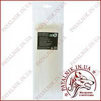 Стяжка кабельная белая 4*250 (3,6*250мм) (100шт)