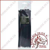 Стяжка кабельная черная 4*300 (3,6*300мм) (100шт)