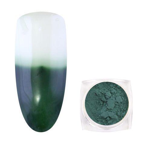 Втирка термо пигмент Зелёная в баночке
