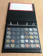 Альбом для монет 525 ячеек Schulz черные листы