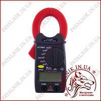 Кліщі струмовимірювальні Digital DT-399A, струмові кліщі з мультиметром