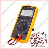 Мультиметр универсальный Digital DT-9601 для измерения емкости