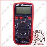 Мультиметр универсальный Digital VC-61, цифровой тестер с прозвонкой, автовыключение, защита