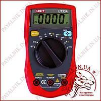 Мультиметр універсальний UNIT UT-33A автоматичний (made in EC) (MIE0062) оригінал
