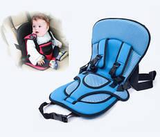 Детское автокресло бескаркасное 9-18 кг (1-6 лет) Child Car Seat / Синий