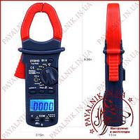 Клещи токоизмерительные Digital DT-201D, токовые клещи с мультиметром (Оригинал)