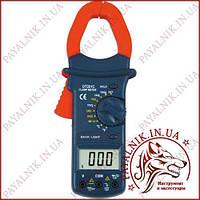 Клещи токоизмерительные Digital DT-201C, токовые клещи с термопарой (Оригинал)