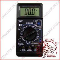 Цифровий мультиметр DIGITAL M890G, вимірювач ємності, частотомір, вольтметр (Оригінал), фото 1