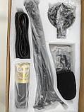 Студийный конденсаторный микрофон Music D.J. M-800 со стойкой и ветрозащитой Black/Gold, фото 8