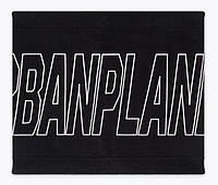 Теплый черный флисовый хомут шарф Urban Planet HPD BLK