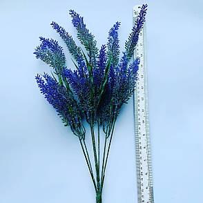 Искусственный куст лаванды. Лаванда декоративная., фото 2