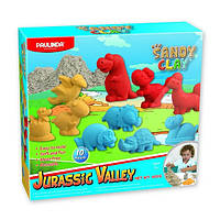Пісок для творчості Paulinda Sandy clay Jurassic Valley 600г 10 од PL-140019