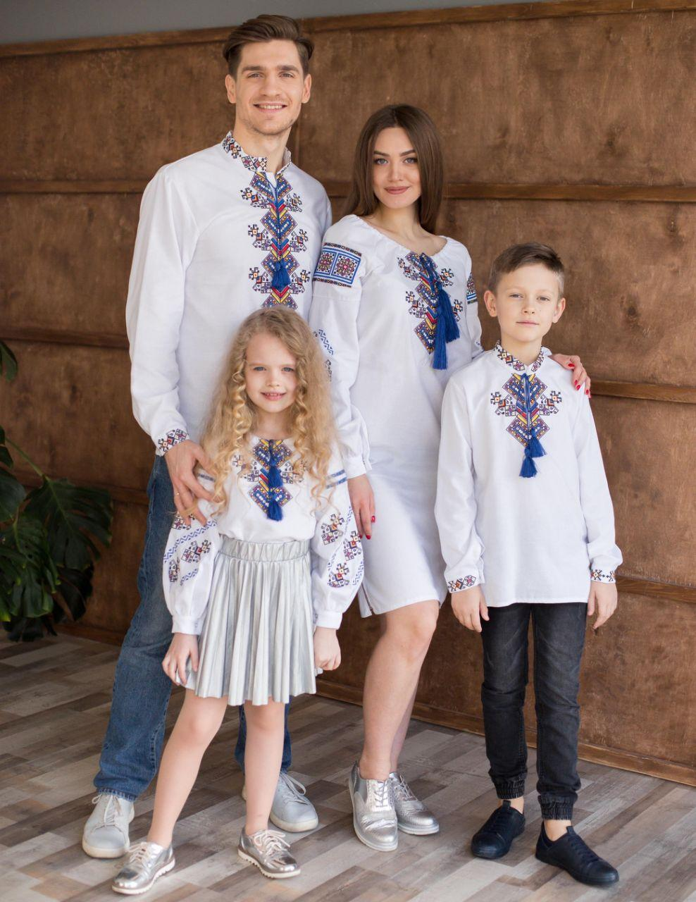"""Комплект вышиванок для семьи """"Судьба"""""""