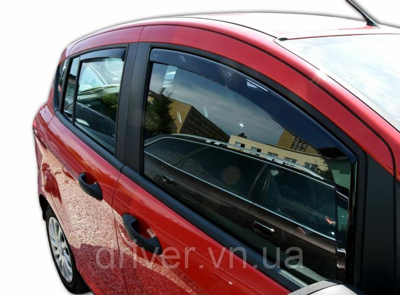 Дефлектори вікон вставні Ford B-Max 2012-> 5D, 4шт