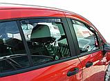 Дефлектори вікон вставні Ford B-Max 2012-> 5D, 4шт, фото 3