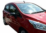 Дефлектори вікон вставні Ford B-Max 2012-> 5D, 4шт, фото 4