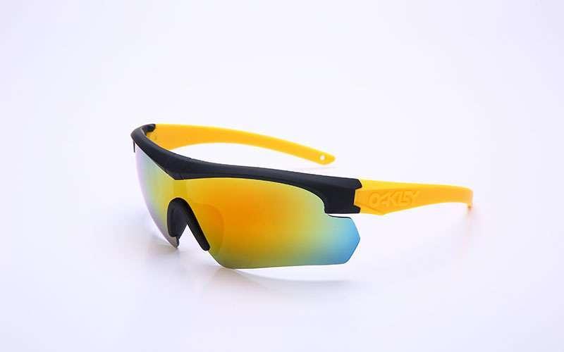 Очки спортивные солнцезащитные Oakley (пластик, акрил) Желтый PZ-BD7932_1