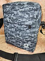 Спортивные барсетка UNDER ARMOUR сумка для через плечо камуфляж Искусств кожа только оптом, фото 1