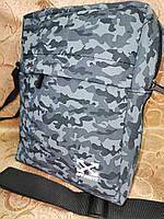 Спортивные барсетка off white сумка для через плечо камуфляж Искусств кожа только оптом, фото 1