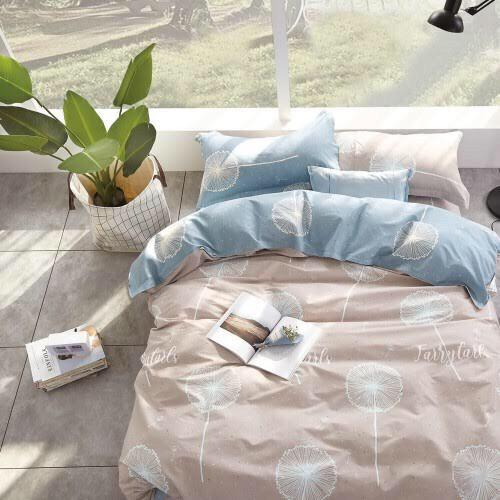 """Комплект постельного белья """"Летний одуванчик"""" евро размер"""