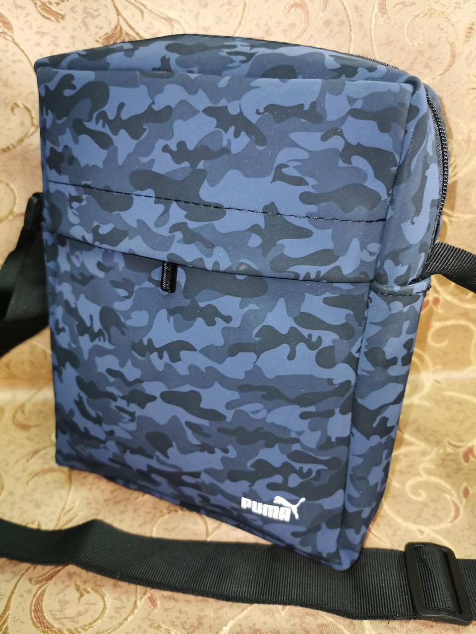 Спортивные барсетка puma сумка для через плечо камуфляж Искусств кожа только оптом