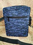 Спортивные барсетка puma сумка для через плечо камуфляж Искусств кожа только оптом, фото 4